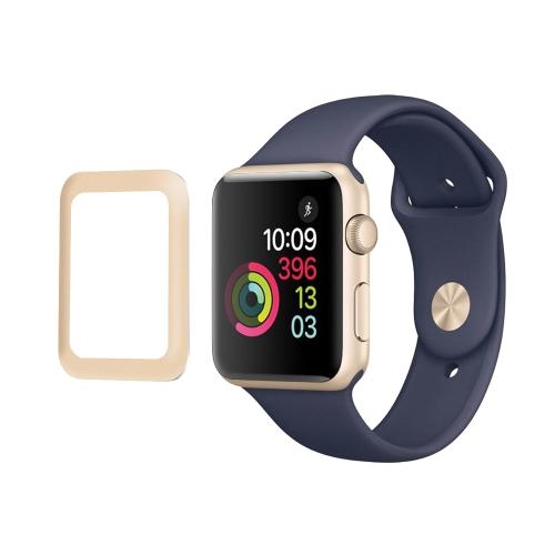 Link Dream - Protector de pantalla de vidrio templado de 0.2mm para Apple Watch iWatch Series 2 de 42 mm