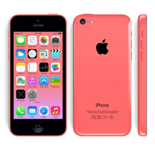 Refurbished Apple iPhone 5C Smartphone-Unlocked- Good Condition