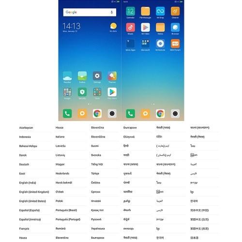 Global Version Xiaomi Redmi Note 5 AI Face ID Mobile Phone 3GB 32GB EU Plug (Blue)
