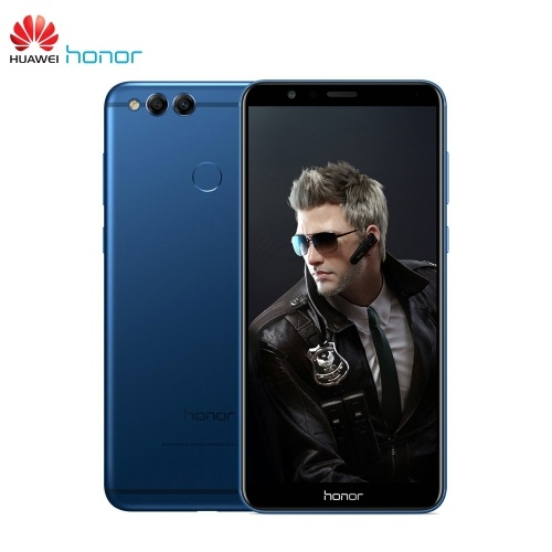 $66.20 OFF Huawei Honor 7X Mobile Phone 4+32GB,free shipping $162.93(Code:L321PZ)