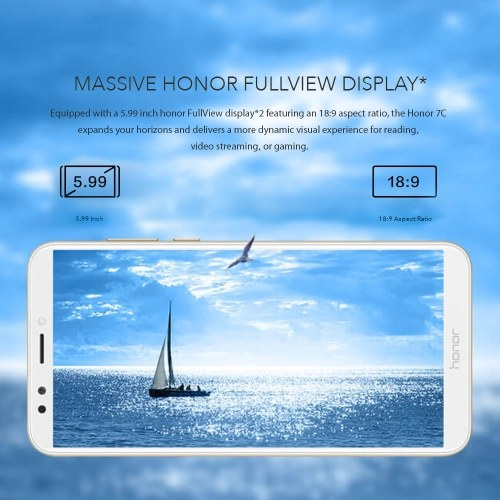 Global Version Huawei Honor 7C Mobile Phone