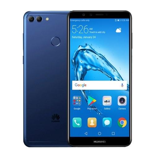 "HUAWEI Y9 (2018) Globale Version 4G Smartphone Android 8.0 (Oreo) EMUI 8 Kirin 659 32 GB ROM 3 GB RAM 5,93 ""16 MP + 13 MP Kamera 4000 mAh Fingerabdrucksensor Dual-SIM-EU-Stecker"