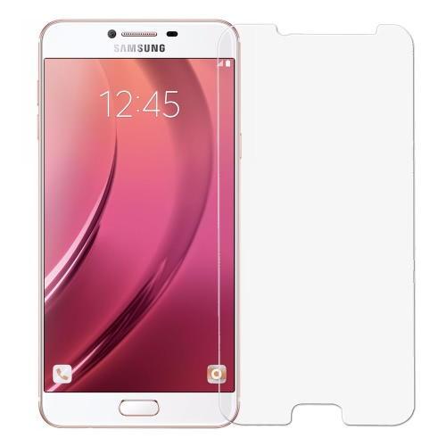 Screen Protector Originale link sogno Premium vetro Film reale vetro temperato di alta qualità anti-knock 9H durezza 2.5D Craft per Samsung Galaxy C7