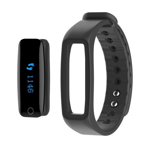 Telcast H30 Heart Rate Smart Bluetooth Wristband Bracelet Pedometer Sleep Monitor