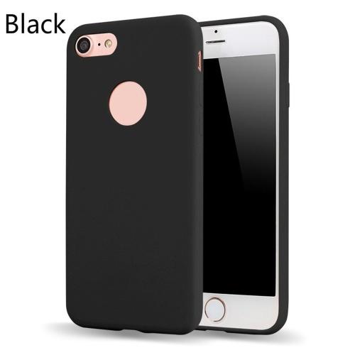 Funda protectora fina delgada fina delgada de la cubierta del color del caramelo Shell del teléfono móvil TPU para el iPhone