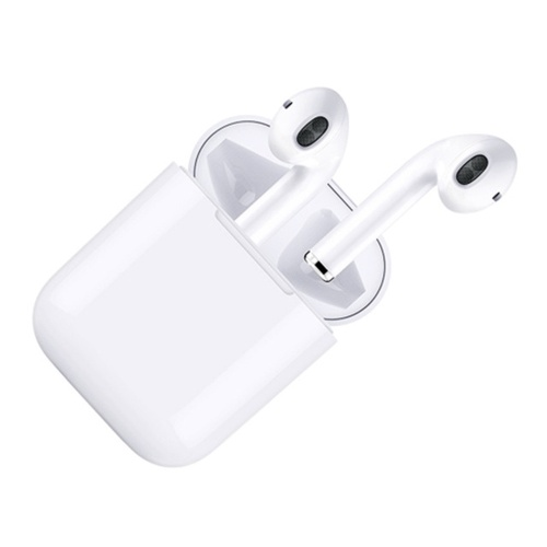 Second-generation Headset BT 5.0 Auto Pairing for Android and IOS Dual Microphones Noise Reduction BT Headset Mic Charge Box Charging