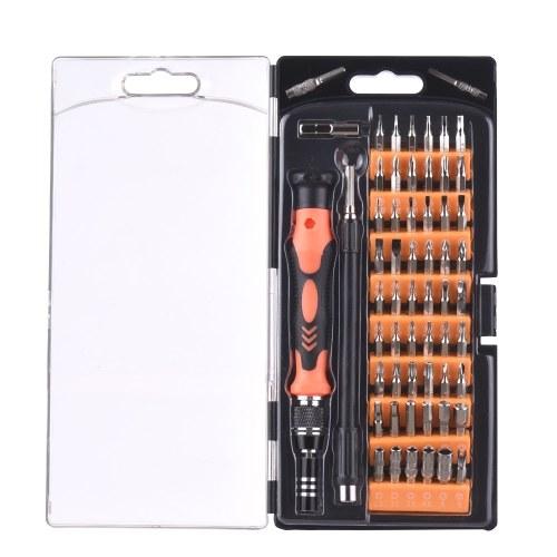 Chave de fenda Set 61 em 1 Conjuntos Multi-função de Computador PC Celular Telefone Celular Dispositivo de Reparo Eletrônico Digital Kit de Ferramentas Para Casa