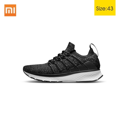 Xiaomi Mijia Sports Sneaker 2 Sports Running Shoes Breathable New Fishbone Lock Elastic Knitting Vamp Shock-absorbing for Men Outdoor
