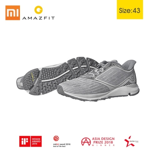 Original Xiaomi Amazfit Antelope Light Smart Shoes Anti-Shock Outdoor Men Women Sports Sneakers Rubber Support Smart Chip (not include) Mijia  38 39 40 41 42 43 44