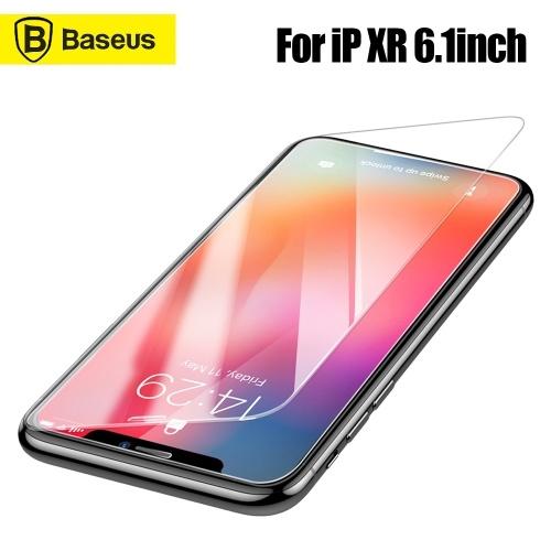 Xiaomi Baseus 0.3 мм Полноэкранный изогнутый стальной фильм Защитная пленка против скольжения Защитное стекло Прозрачный Совместимый для iPhone XR 6.1inch SGAPIPH61-ES02