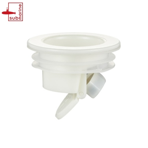 Submarine Floor Drain Odor Proof Core Drain Guard Sewer One Way Drain Valve Sewer Core Backflow Preventer Backwater Valve Insect Proof Drainage And Backflow Automatic Closing to Prevent Odor from Permeating into Bathroom Shower