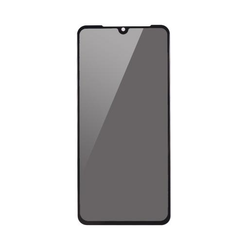 3 Stück Displayschutzfolie Peeping Privacy 2.5D gekrümmte gehärtete Glasfolie ultradünne hohe Transparenz Anti-Schmutz bruchsicher Anti-Scratch-Schutz Telefon Schutzfolie für Xiaomi