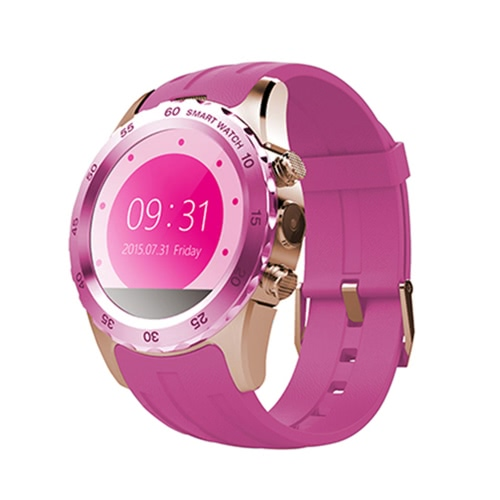 KW08 2G GSM Smart Watch Phone 1.22 inch 240*204pixel MTK6260 Bluetooth 4.0 Sports Smartwatch Wrist Watch Hands-free SMS Anti-lost Pedometer Heart Rating