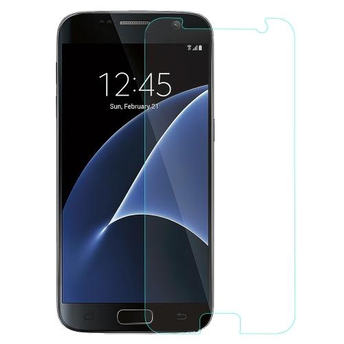 Collegamento sogno Premium protezione Film 9H 2,5 D reale temperato vetro schermo protettore guardia anti-shatter per Samsung S7