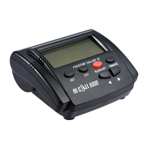 CT-CID803 Caller ID budki telefonicznej Blocker Zatrzymaj Uciążliwość Połączenia Urządzenia połączeń ID monitora ekran LCD z 1500 numerów Pojemność stoping Wszystkie zimno połączeń dla telefonów stacjonarnych Antique telefon stacjonarny