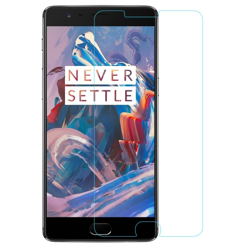 NILLKIN Amazing H Premium Protection Film 0.3mm 9H Real Tempered Glass Screen Protector Guard Anti-shatter for OnePlus 3 Smartphone