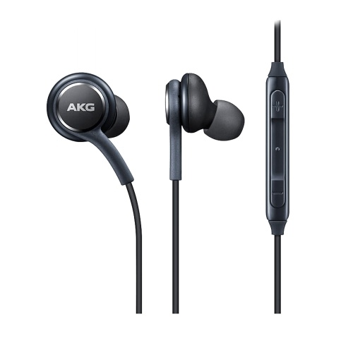 Magnetic Metal Earphone IG955 Wired 3.5mm In-ear with Microphone Volume Control for Samsung S8