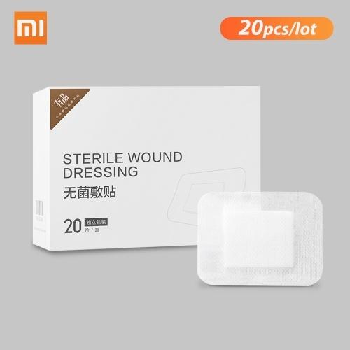 20Pcs Xiaomi Miaomiaoce Wound Plaster Adhesive Band Aid First Aid Bandage Sterile Hemostasis Stickers