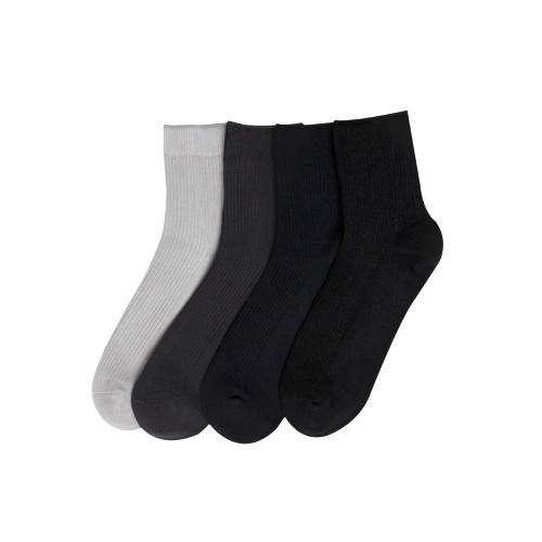Xiaomi Youpin 365WEAR Men Pima Cotton Sport Mid-calf Tube Socks No Odor Antibacterial Sweat Absorbant 4 Season Cotton Hosiery 4 pairs