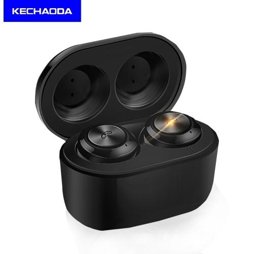 KECHAODA BT1 TWS Cuffie wireless Auricolari Auricolari BT 5.0 Sport Moda HD Stereo Batteria a lunga durata IPX4 impermeabile con custodia di ricarica