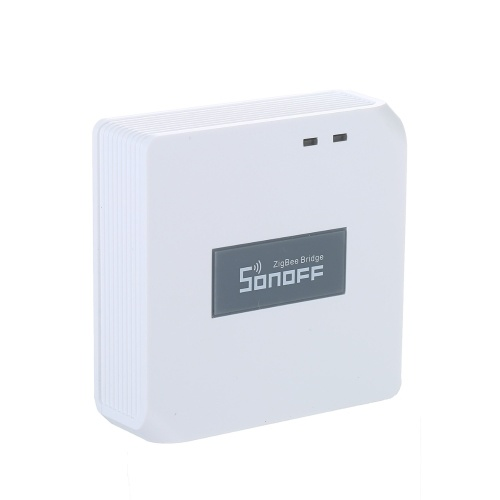 SONOFF ZBBridge Smart ZigBee Bridge Smart Home Hub Automatisierungscontroller Systemunterstützung EWeLink Kompatibel mit Amazon Alexa Google Assistant