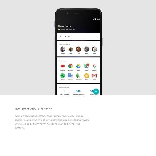 OnePlus 5 4G Smartphone--6GB+64GB