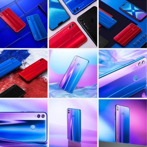 Versión global Huawei Honor 8X Face ID Smartphone