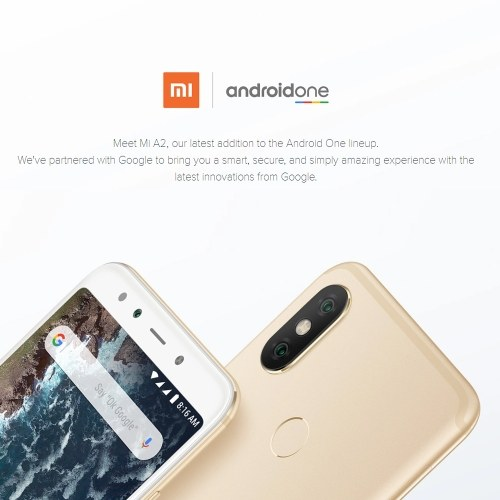 Global Version Xiaomi A2 Mobile Phone 【4GB+64GB】