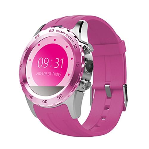 KW08 2G GSM Smart Watch Phone 1.22 inch 240*204pixel MTK6260 Bluetooth 4.0 Sports Smartwatch Wrist Watch Hands-free SMS Anti-lost Pedometer Heart Rating
