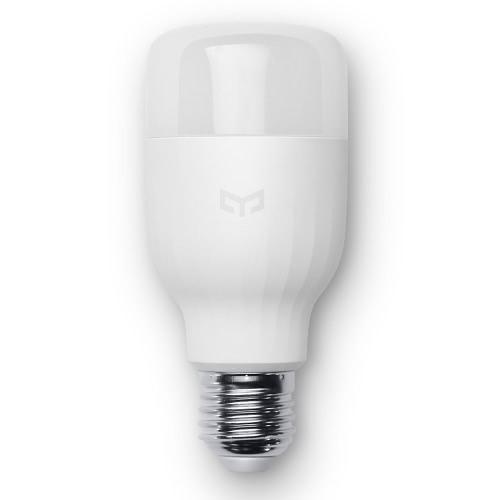 Original Xiaomi Mi Yeelight LED Bulb Wifi Remote Control Adjustable Brightness Eyecare Light Smart Bulb Smartphone App Light White Color