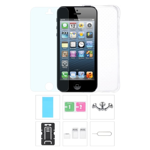 Phone Accessories Protective Back Case Screen Film Protector