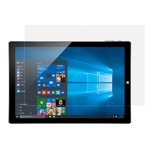 Prémio Tablet PC de vidro temperado HD protetor de tela 9H Super Hardess 2.5D à prova de explosão Oleophobic Função Scratch Resistant Anti-fingerprint Protecive membrana de filme para Teclast Tbook 10 PC