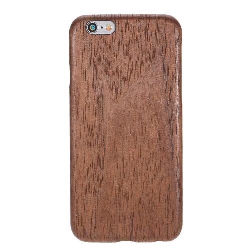 Natural de madeira de bambu Handmade Mobile Phone Hard Case Shell Moda tampa traseira de madeira para iPhone 6 / 6S não escorregar Magro Light Weight Super Fino