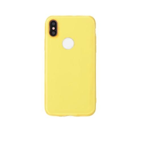 Тонкий тонкий матовый мягкий TPU мобильный телефон оболочки конфеты цвета защитный чехол чехол для iPhone
