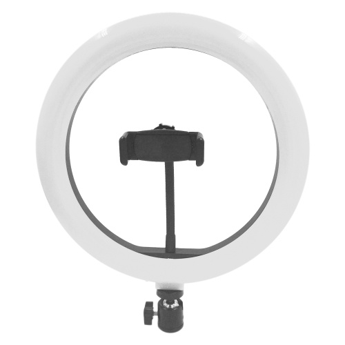 Photography LED Selfie Round Light Lighting Dimmable Wide Dimming Range Lights for Camera Photo Selfie Photography