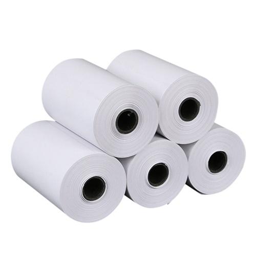 Thermopapierrolle 57 * 30 mm Falsche Fragen Hinweise Drucken von Papieren für tragbare Mini-Fotothermodrucker 5 Rollen