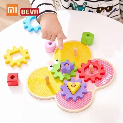 Xiaomi BEVA Enfants Blocs de Construction DIY Éducatif Jouets Blocs d'Engrenage Jouets Éducatifs Précoces Pour La Maison Intelligente Cadeaux pour Enfants 11 pcs