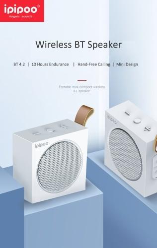 ipipoo YP-2 Wireless BT Speaker Stereo Sound Music Portable Outdoor Bass Mini Handfree Box Loudspeaker