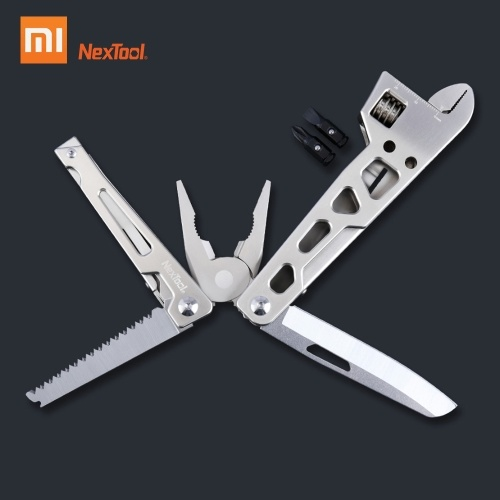 Xiaomi Nextool Multi-Function Bicycle Repair Tool 9 In 1 Field Survival Repair Tool Folding Wrench Knife Screwdriver Pliers Outdoor Survival Tool