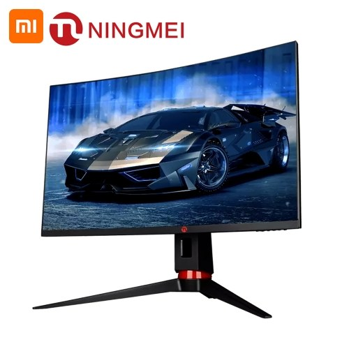 Ningmei 27 pouces 1500R courbure 2560 * 1440P HD moniteur incurvé GN276CQ