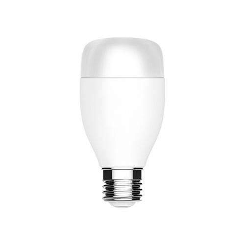 WiFi Bulb E27 White RGB Smart Light Multi-Color Remote Mobile Phone Control 16 Million Colors Time Switch Color Temperature Adjusting 7W Smart Lamp Compatible with Alexa Google Home Bulb / White
