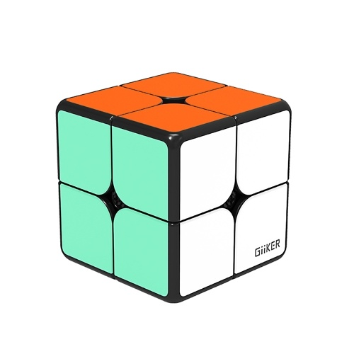 Xiaomi Mijia Giiker i2 Magnetic Cube Puzzle 2x2x2 4.9cm Speed Professional Square Magic Cube Puzzles Colorful For Man Woman Children Science Educational Toys Work with Giiker App