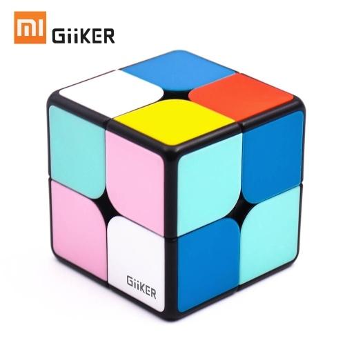 Puzzle con cubo magnetico Xiaomi Mijia Giiker i2 2x2x2 4,9 cm Velocità Puzzle quadrato cubo magico professionale Colorato per uomo Donna Bambini Scienza Giocattoli educativi Lavora con l'app Giiker