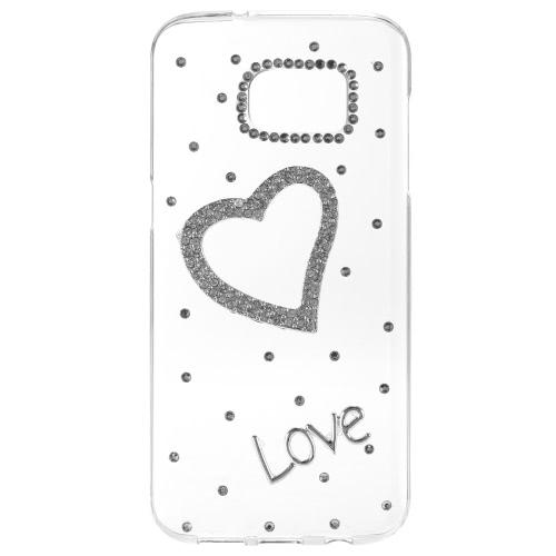 KKmoon оболочки защитные задняя обложка ультратонких легкие пластиковые моды Bling бампер для Samsung Галактика S7 края
