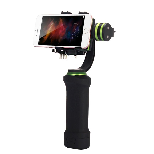 LiLpartner 3 assi palmare Gimbal Tilt Pan Roll Brushless stabilizzatore con supporto a Clip per iPhone 6S 6S Plus Smartphone iPhone