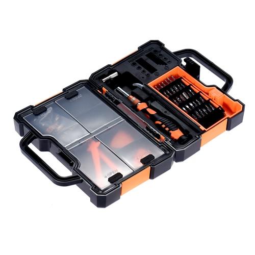 JAKEMY JM-8152 Professional демонтажных Ремонт Открытие Набор инструментов запасных частей Контейнер для Apple, Huawei Smartphone