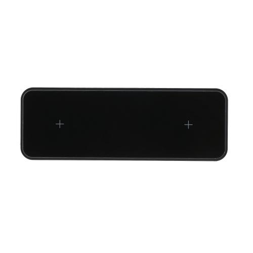 Aleación de aluminio portátil de ahorro de energía 10W Sin cable Cargador T9 de carga rápida doble Adecuado para I-Phone 11 también