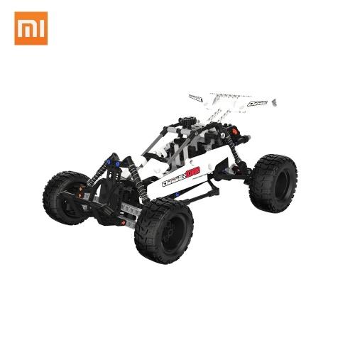 490 stücke xiaomi wüste rennwagen bausteine set diy spielzeug smart linkage system unabhängige suspension diy pädagogische geschenke für kinder