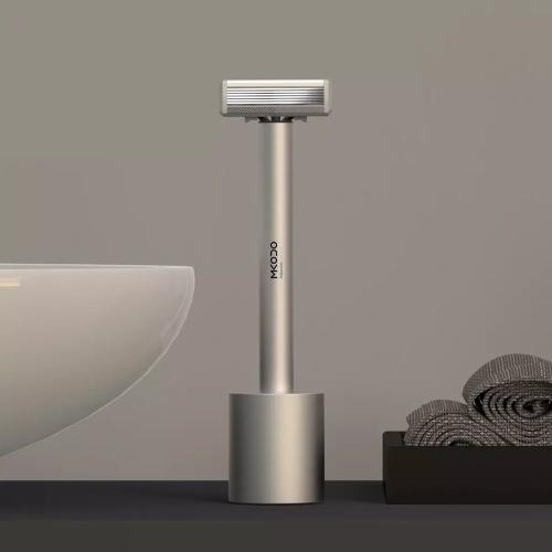 MKODO Sensing Shaver T1 Ручная бритва для лица Высокочастотный шок 3D Электробритва Мужская моющаяся стальная борода Набор машин