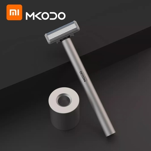 Xiaomi youpin MKODO Sensing Shaver T1 Manual Face Shaver High Frequency Shock 3D Electric Shaving Razor Men Washable Steel Beard Machine Set